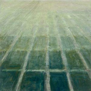 Polderland, 2020, olie op linnen, 60x60 cm