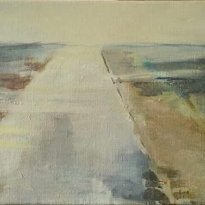 Landscape as a Memory, olie, 2017