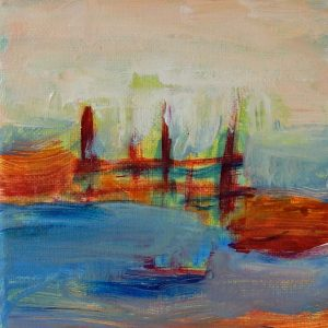 hekje, acryl, 2015